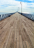 Shorncliffe Pier in the Sunshine Royalty Free Stock Photography