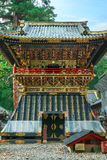 Shoro - A belfry in front of Yomeimon gate of Tosho-gu shrine in Nikko, Japan Stock Photography