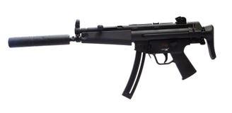 Short assault rifle Stock Images