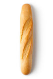 Short baguette. Topview. Royalty Free Stock Photos