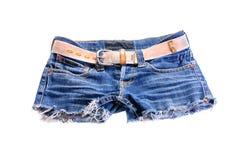 Short Blue jeans Stock Image