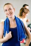 Short break from the treadmill Stock Images