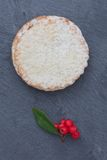 Short crust pastry mince pie Stock Image