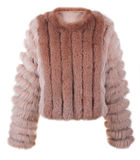 Short fur coat Royalty Free Stock Photography
