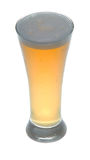 Short glass of beer Stock Images