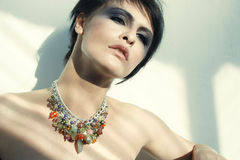 Bombshell necklace Stock Photography