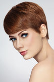 Short haircut Royalty Free Stock Images