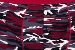 Short impresso camuflagem no dia imagem de stock