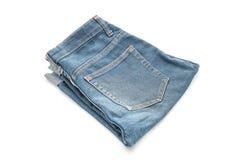 Short jean on white Royalty Free Stock Image