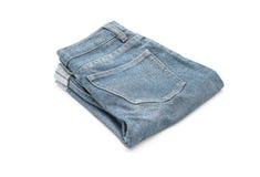 Short jean on white Stock Photos