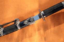 Short killing sword Royalty Free Stock Images
