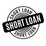 Short Loan rubber stamp Stock Images