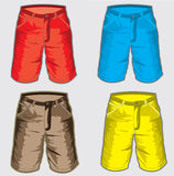 Short pant - Bermuda shorts Royalty Free Stock Photos