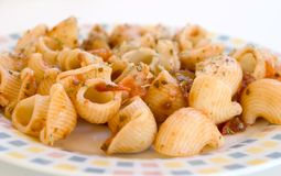 Short pasta Royalty Free Stock Photos
