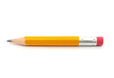 Short pencil Royalty Free Stock Images