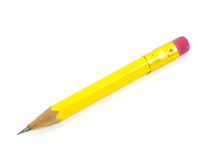 Short pencil Royalty Free Stock Photos