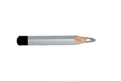 Short pencil. Stock Photo