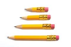 Short Pencils Royalty Free Stock Photos