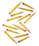 Short Pencils Stock Images