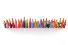 Short pencils Royalty Free Stock Images