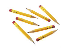 Short Pencils Stock Photography