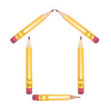 Short Pencils Stock Image