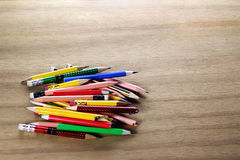 Short Pencils Stock Photos