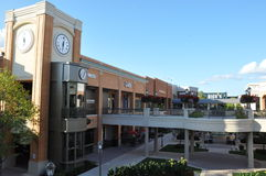 Short Pump Town Center in Virginia Stock Images