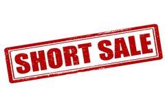 Short sale Stock Image