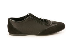 Short shoe isolated. On the white background Royalty Free Stock Images