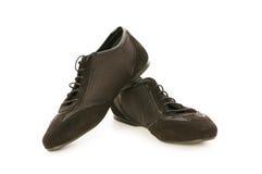 Short shoe isolated. On the white background Stock Photography