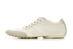 Short shoe isolated. On the white background Royalty Free Stock Image