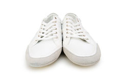 Short shoes isolated. On the white background Royalty Free Stock Images