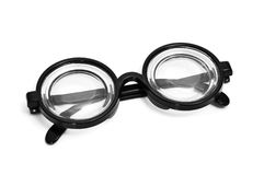 Short-sighted glasses Royalty Free Stock Photography