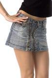 Short skirt Royalty Free Stock Photo