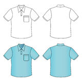 Short sleeve shirt Royalty Free Stock Image