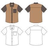 Short sleeve shirt Royalty Free Stock Photos