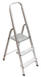 Short stepladder isolated on white Royalty Free Stock Photos