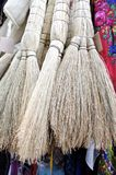 Short Straw Brooms Royalty Free Stock Photo
