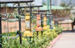 Short street lamp stock images