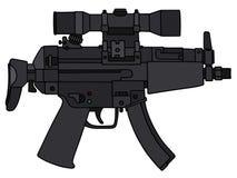 Short submachine gun Royalty Free Stock Photography