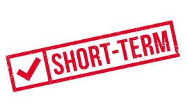 Short-Term rubber stamp Stock Photography