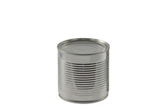 Short Tin Can Royalty Free Stock Image