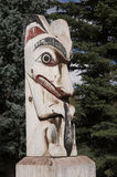 Short Totem Pole Stock Images