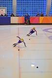 Short track 2012 in Turin. Italy Stock Photos