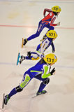 Short track 2012 in Turin. Italy Royalty Free Stock Images