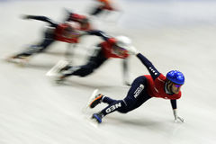 Short Track - Motion blur Royalty Free Stock Photos