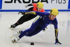 Short track - Serhiy Lifyrenko Stock Photo