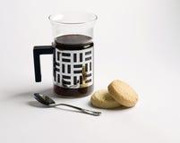 shortbread кофе Стоковое Изображение RF