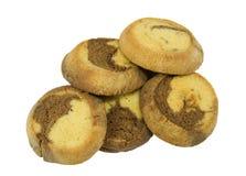 shortbread печений мраморный Стоковое Изображение